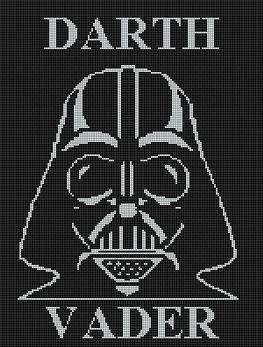 Crochet Patterns Darth Vader Afghan Pattern Crochet Graph