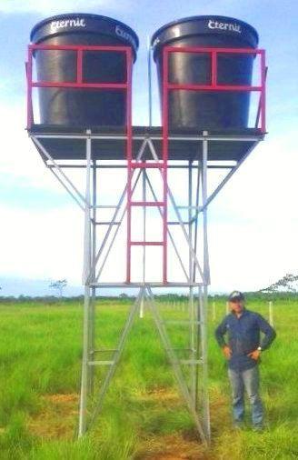 Resultado de imagen para torres de tanque de agua torres for Como hacer un tanque de agua para rustico