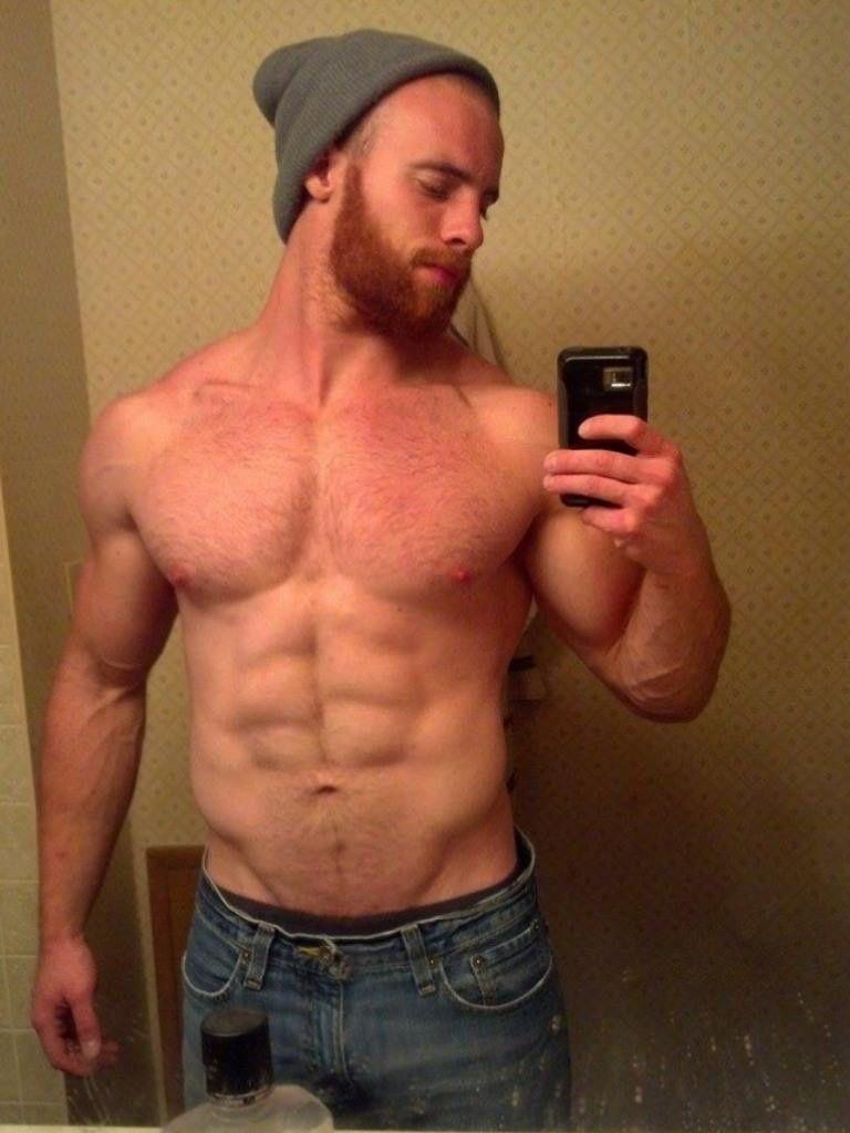 Hairy redhead guys
