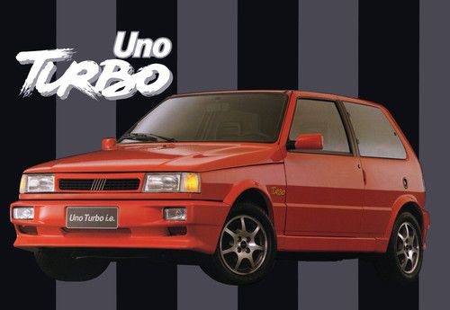 1994 Fiat Uno Turbo I E Brasil With Images Fiat Uno Fiat