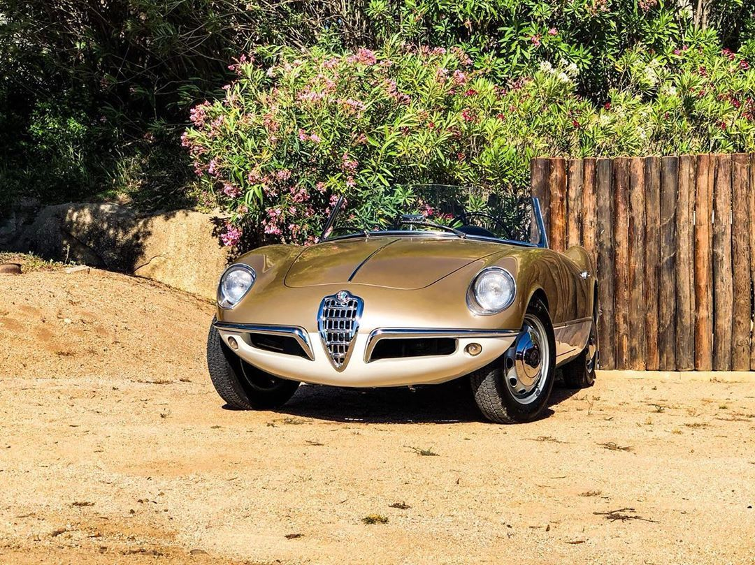 The Giulietta That Never Was Presented In 1955 This Prototype Designed For Bertone By Franco Scaglione Was The Pro Alfa Romeo Alfa Romeo Cars Italian Cars