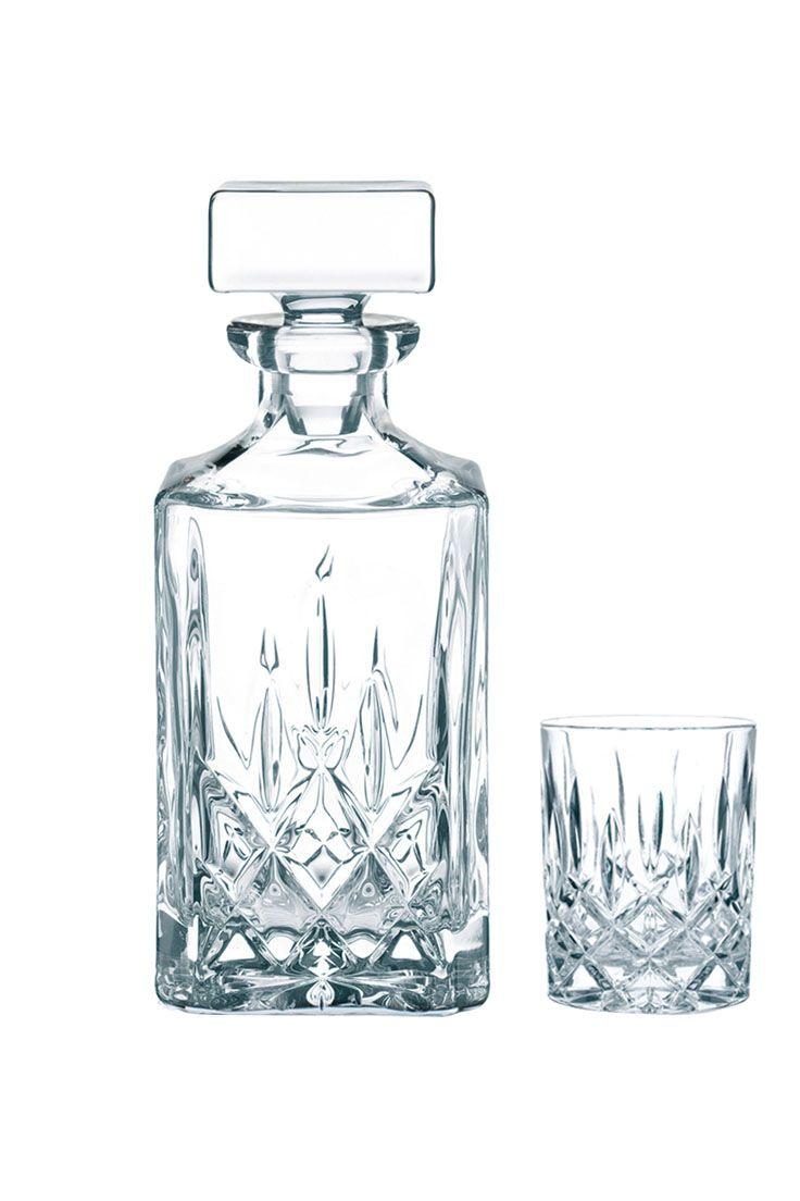 Kristallglas-Whisky-Set Noblesse, 3-tlg