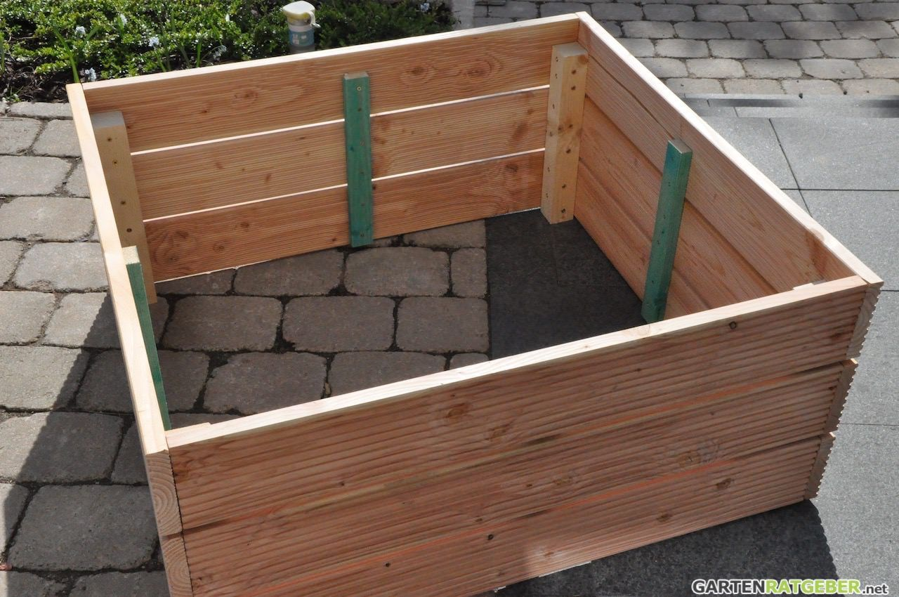 hochbeet selber bauen hochbeet selber bauen hochbeet. Black Bedroom Furniture Sets. Home Design Ideas