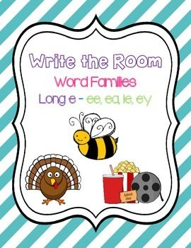Write the Room - Long e Word Family