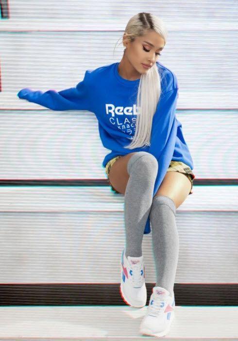 Ariana Grande in the Reebok campaign | Ariana grande ...