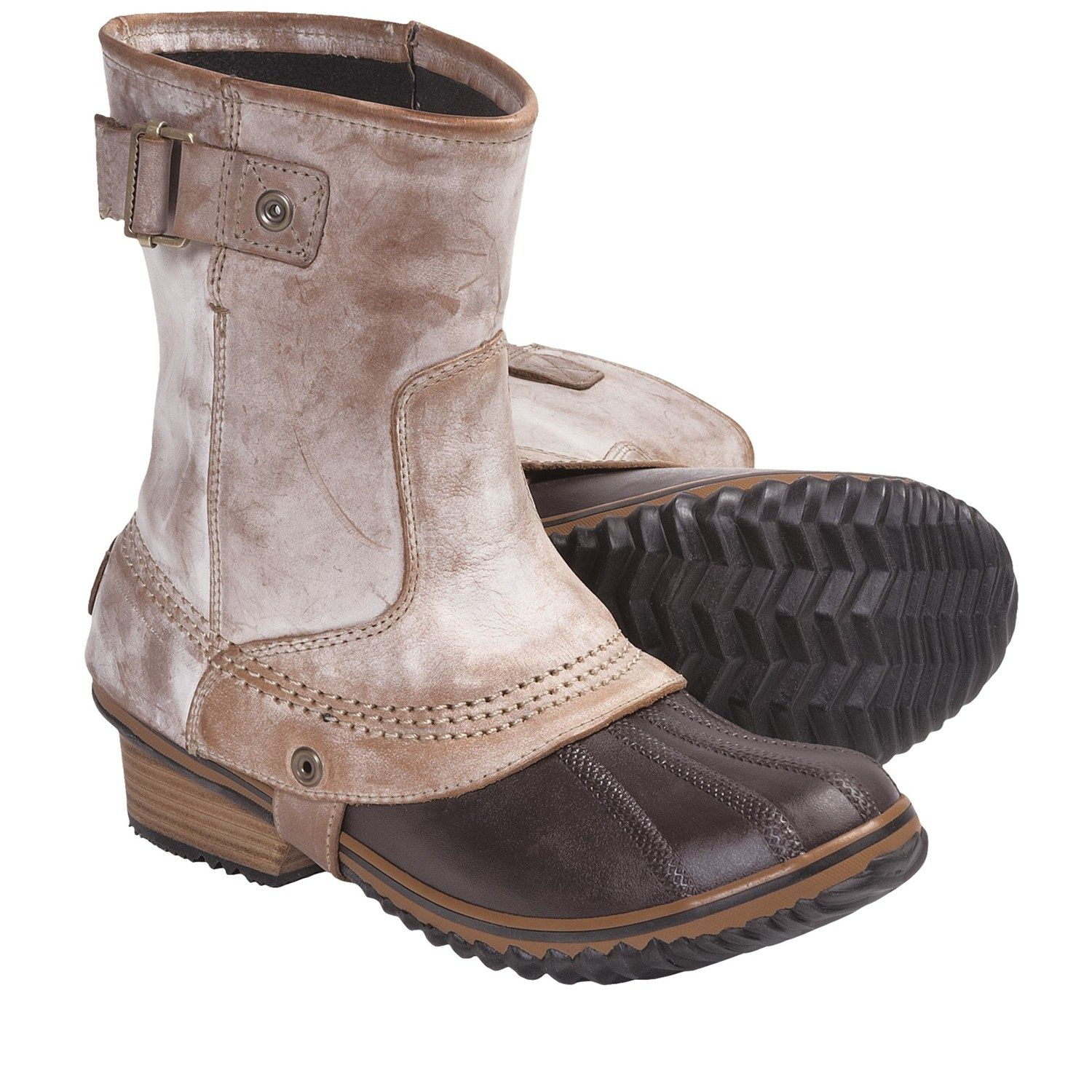 Sorel Slimpack Short Riding Boots - Waterproof, Insulated (For ...