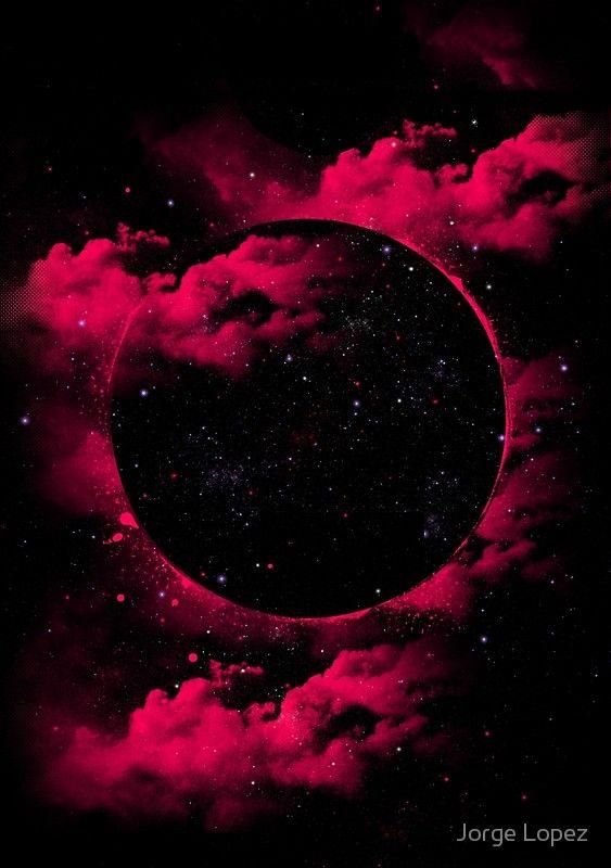 Black Hole Poster by Jorge Lopez