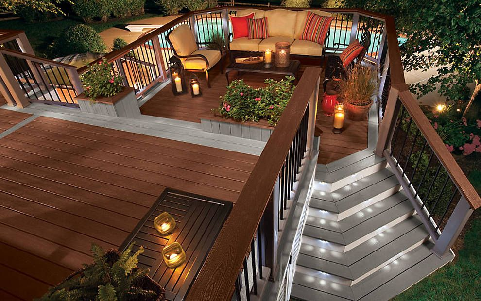 Outdoor Deck Design Ideas deck railing seating ideas 42160 backyard deck railing home design photos Pictures Of Beautiful Backyard Decks Patios And Fire Pits Diy Deck