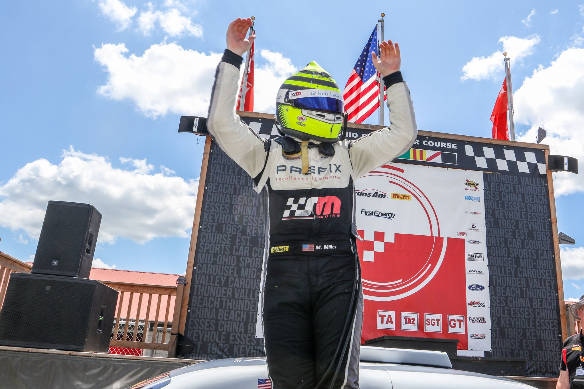 Icymi Miller Makes It Two In A Row With Trans Am Victory At Mid