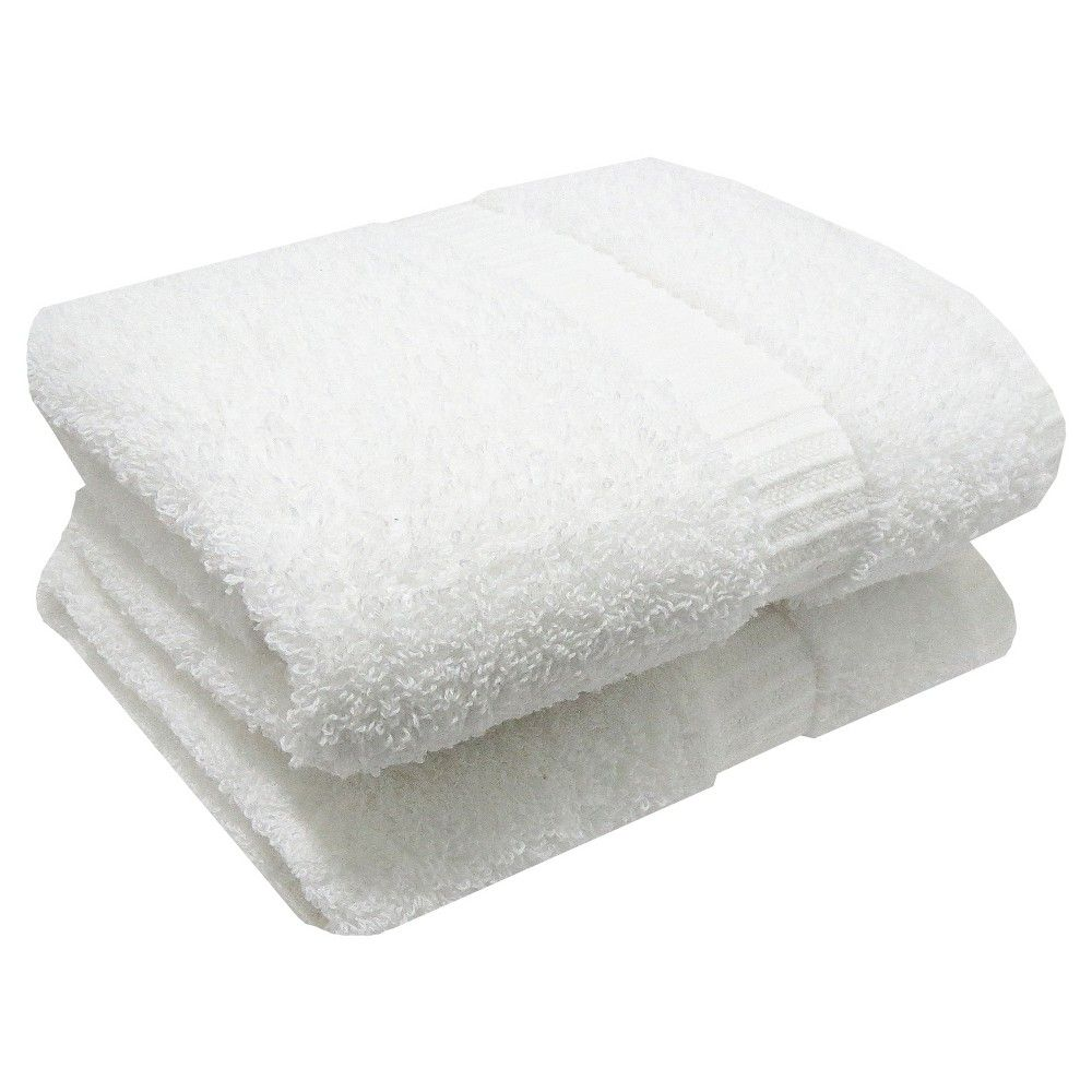 Hand Towel Set Of 2pk White Room Essentials