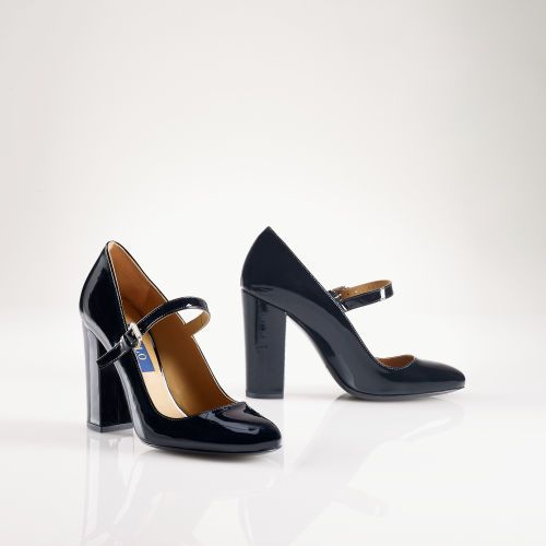 df23f62f649 Polo Ralph Lauren Patent Leather Mary Jane on shopstyle.com   Shoes ...