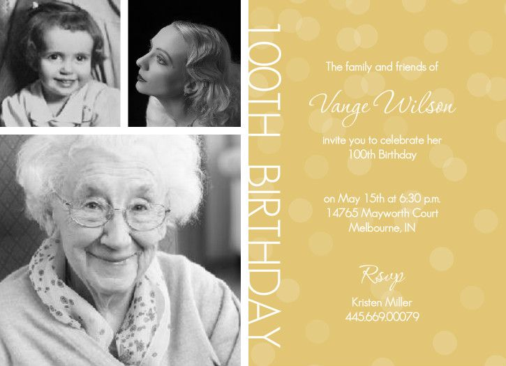 through the years. invitation. | grammys 90th | pinterest | 90, Birthday invitations