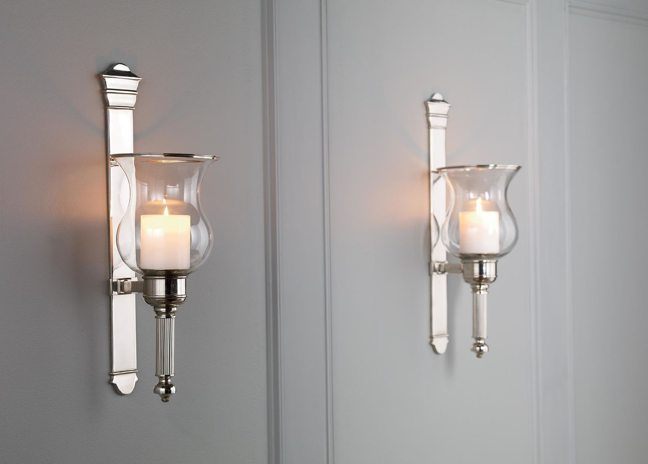 Candle wall scones are attributes that match your interior