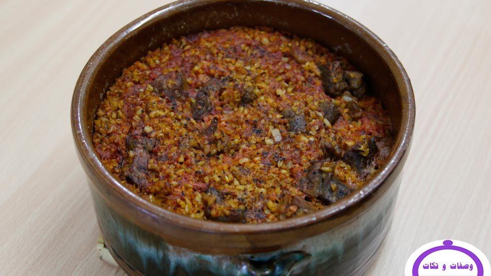 طريقة مميزة لعمل طاجن الفريك باللحم وصفات و تكات Food Cooking Soup