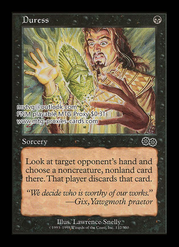 Mtg Proxy Magic The Gathering Fnm Playable From Usd 0 3 Www Mtg