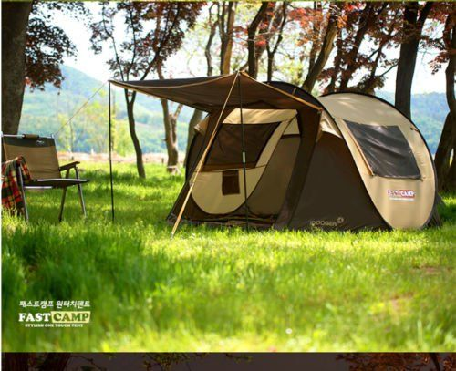 Smart Pop-up Outdoor 3~4 Person C&ing Hiking Tent One-touch tent (bROWN) -- For more information click me #C&ingTents & Smart Pop-up Outdoor 3~4 Person Camping Hiking Tent One-touch tent ...