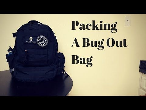 Packing a Bug Out Bag - Smart Prepper Gear