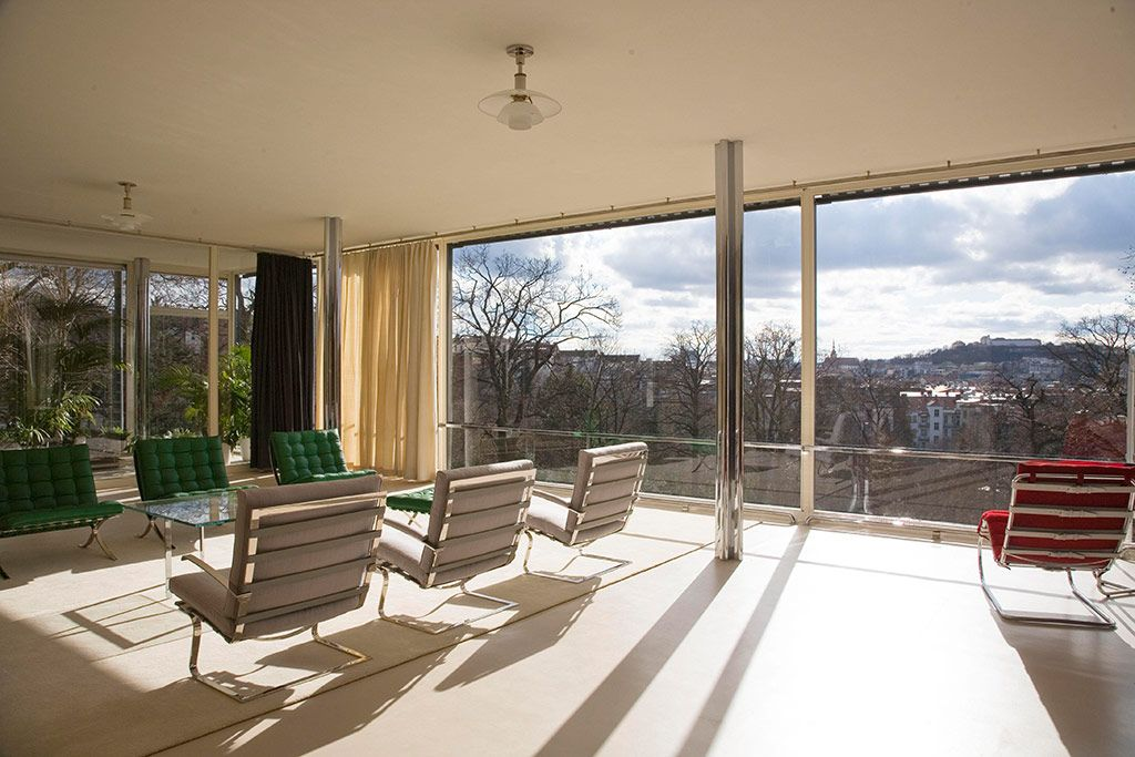 Villa Tugendhat, Brno, Czech Republic in pictures