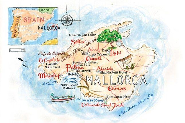 Mallorca S New Beat Map Winter Sun Holidays Nikki Beach
