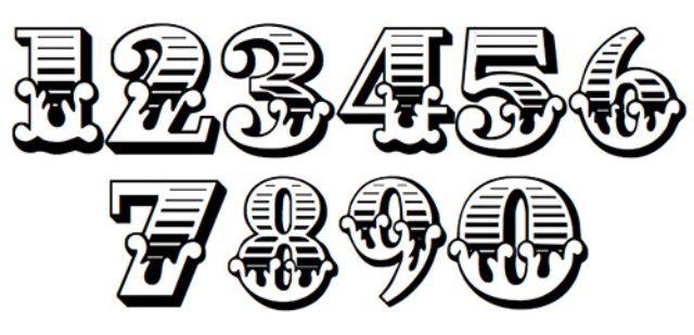 86 Fancy English Font