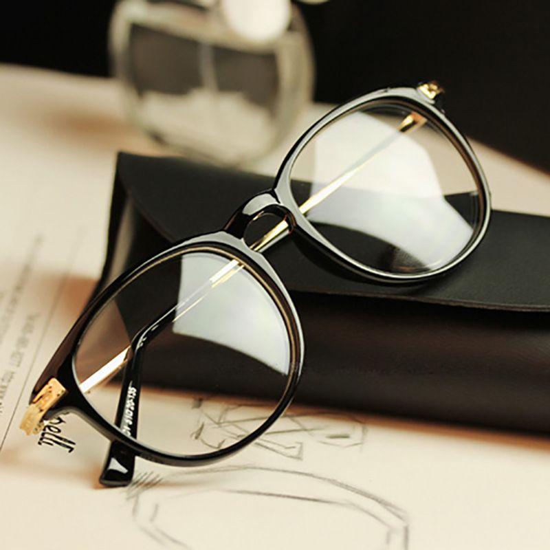 The New Retro Glasses Frame Round Metal Frame Small Fresh Art Wind ...