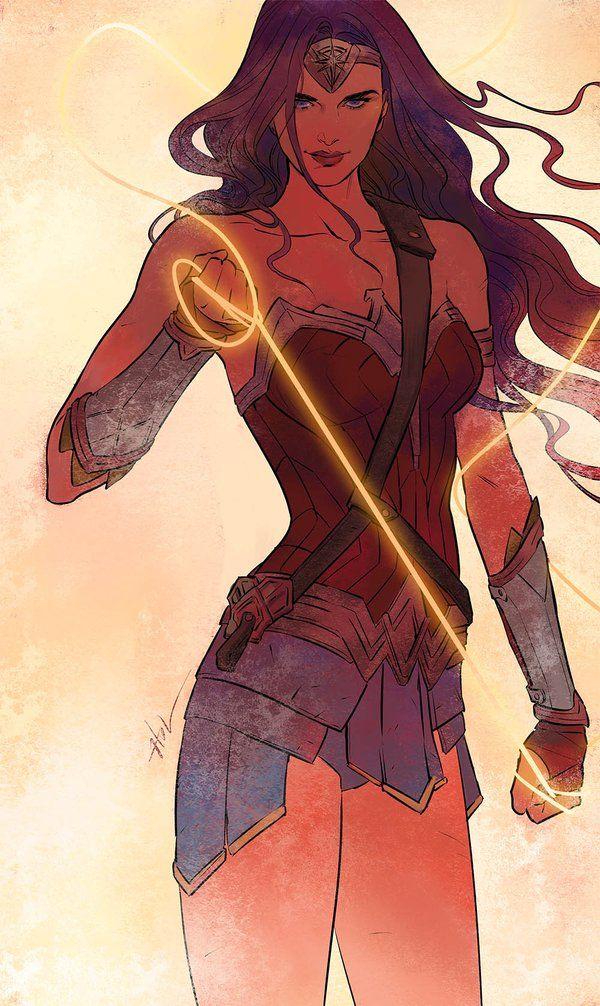 Wonder Woman By Huang Danlan Wonder Woman Heros Heros Comics