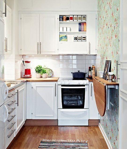 cocina pequeña   casa nueva :)   Pinterest   Cocina pequeña ...
