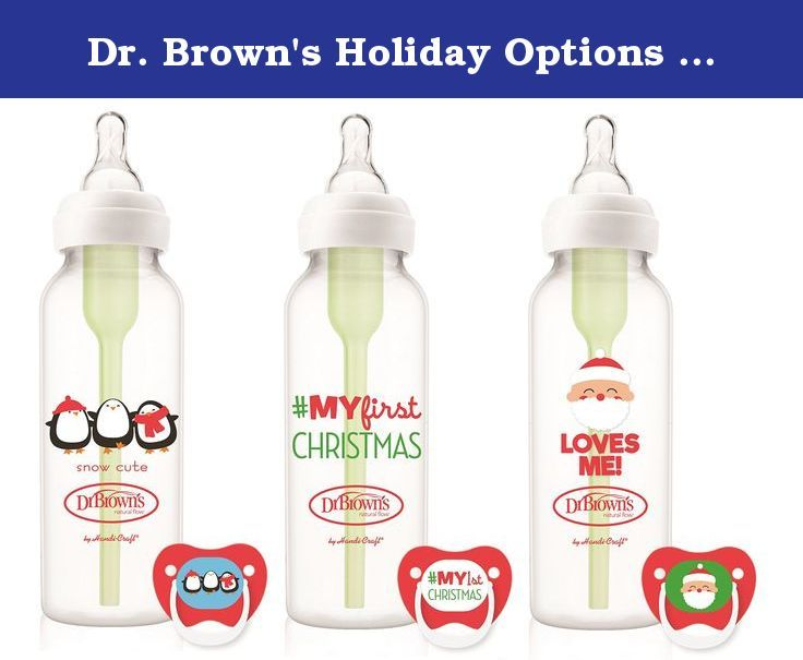 Dr. Brown's Holiday Options Bottles 3 Pack 8 oz. and 3 Prevent ...