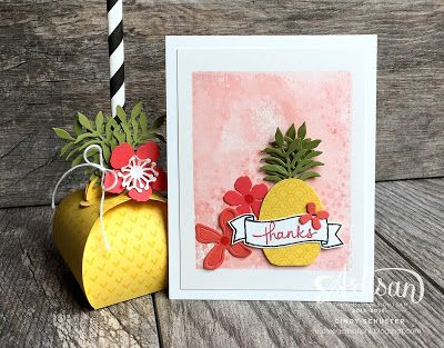 nutmeg creations: Stampin' Up Artisan Blog Hop - Botanical Pineapple...