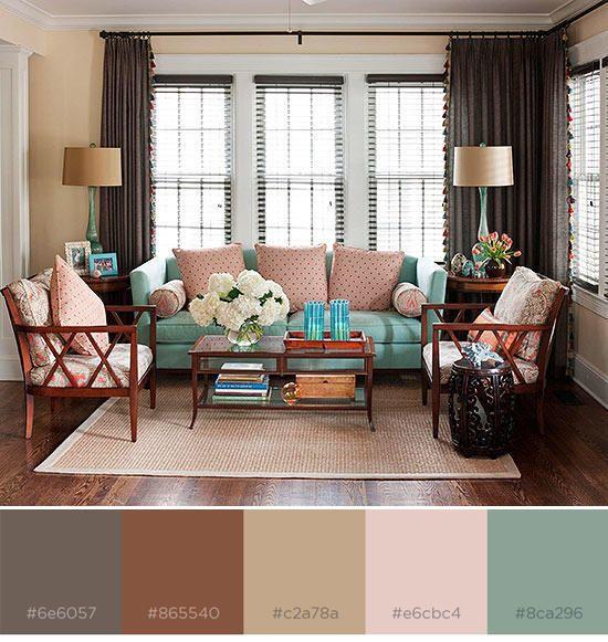 8 Rich Color Schemes that Prove Brown-Based Designs aren't ...