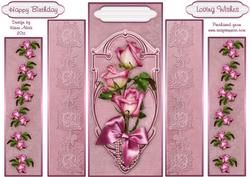 Sweetheart Roses Theatre Fold Panels
