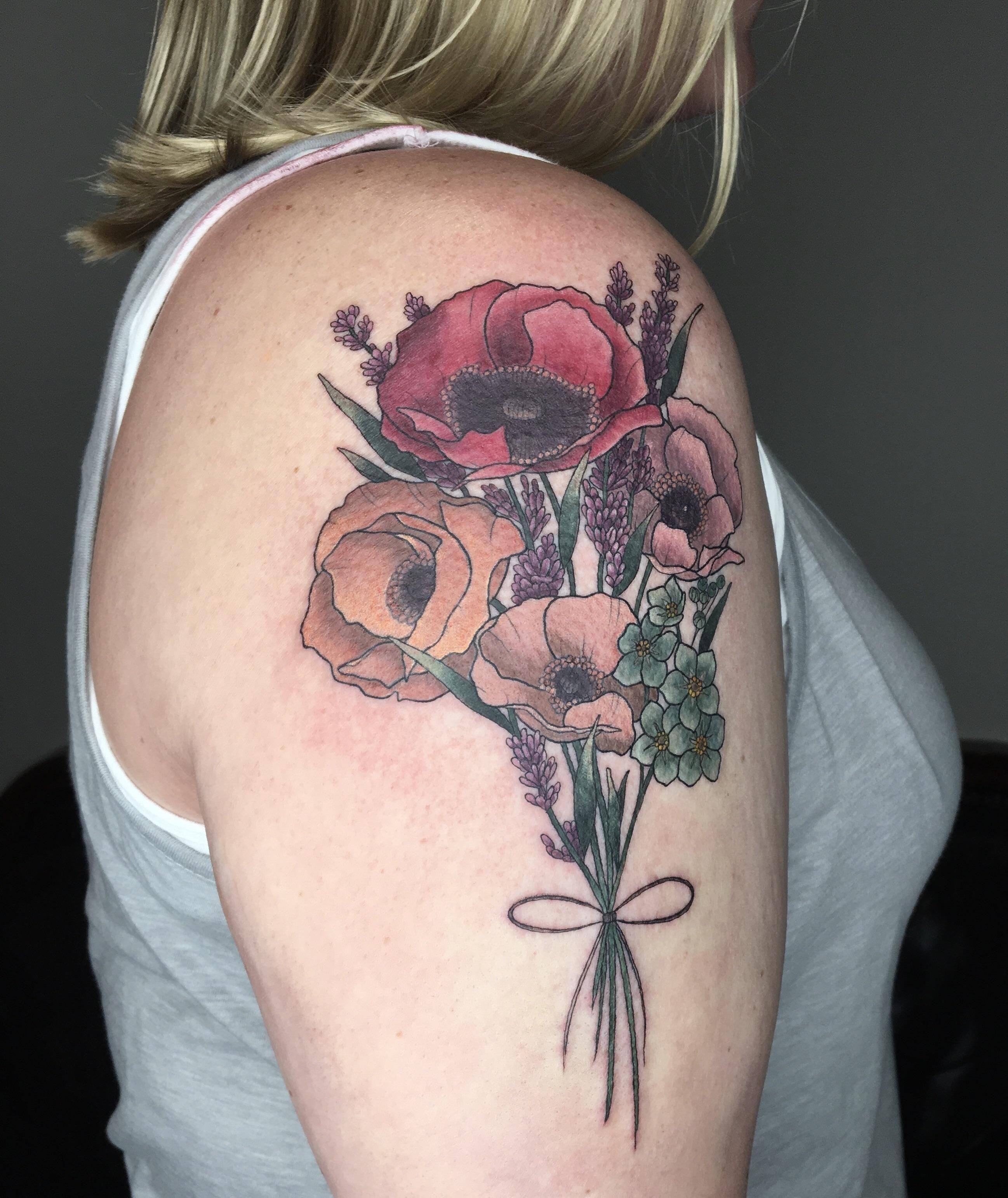 Forearm Flowers By Josh Keyser At Revolution Ink In Pelham Alabama Inspirational Tattoos