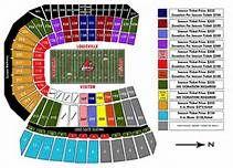 Detailed Seating Chart Papa Johns Cardinal Stadium