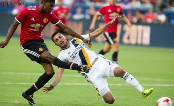 Rashford double as United thrash Galaxy