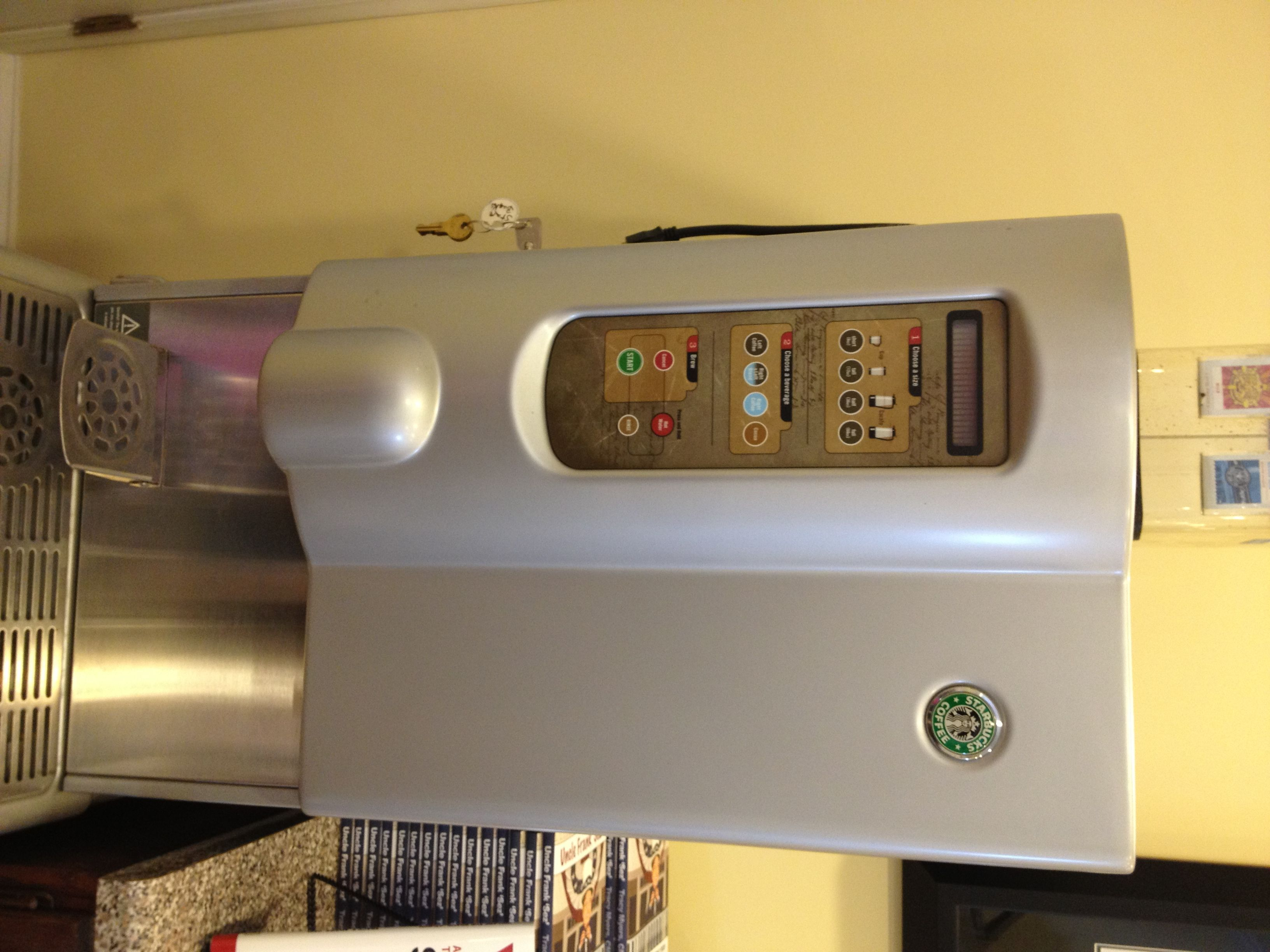 Cafection SB10301 Starbucks Interactive Cup Coffee Brewer Dispenser Machine  Craigslist Posting Set Up 12.14.2012
