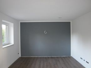 w nde streichen in k che und wohnzimmer schlafzimmerdesign. Black Bedroom Furniture Sets. Home Design Ideas