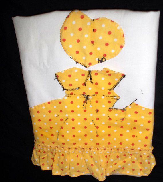 Vintage Sun Bonnet Sue Pillow Case #sunbonnetsue