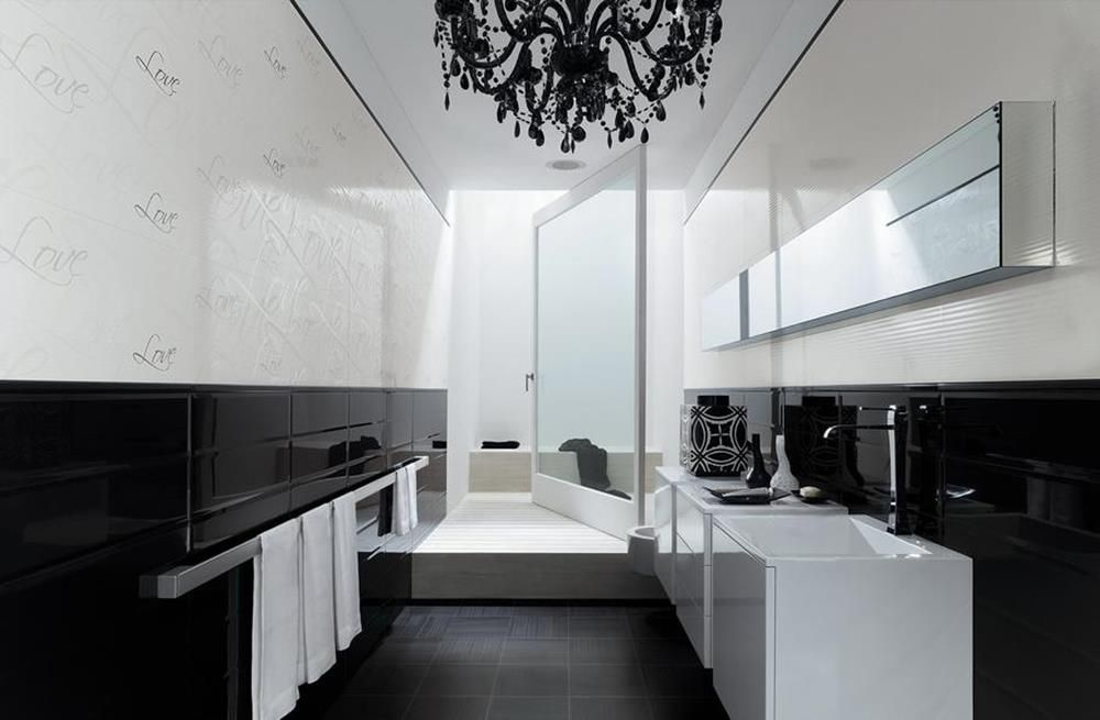 R sultat de recherche d 39 images pour calepinage mur salle de bain salle de bain - Calepinage salle de bain ...