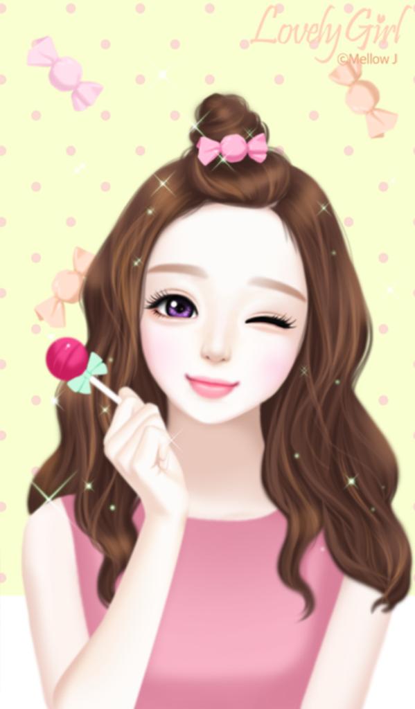 Pin Oleh Jasmine Sona Ta Di Enakei Wallpaper Gadis Cantik Gadis Kartun Lucu Gambar