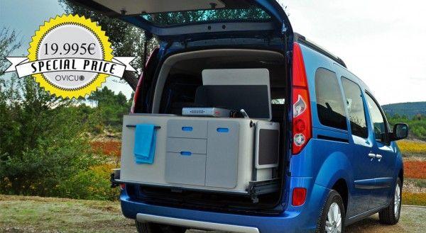 Oferta . Kangoo Camper Travel Pack por 19.995€ | Ovicuo