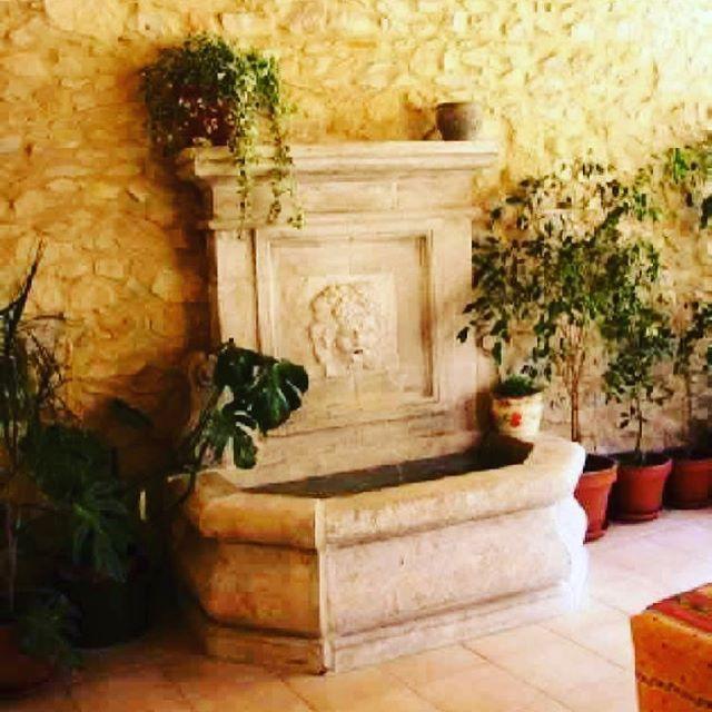 #Italian #stone #wallfountain #instastyle #instadaily #decor #exterior #garden