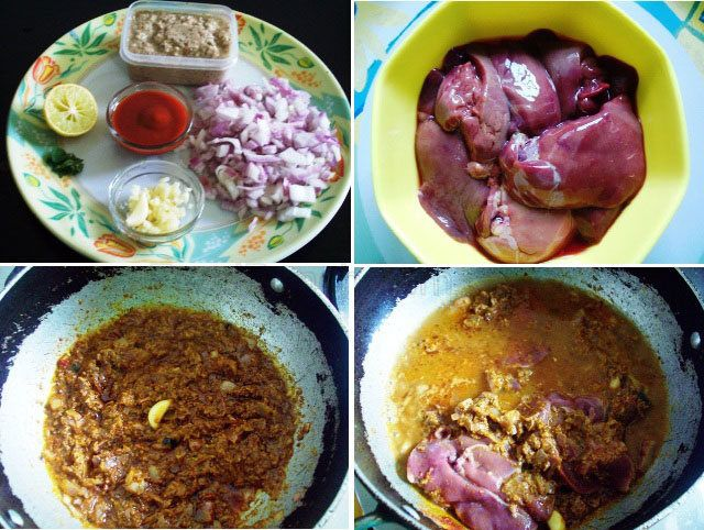 Dry fry chicken liver recipe chicken liver masala recipe indian food forumfinder Choice Image