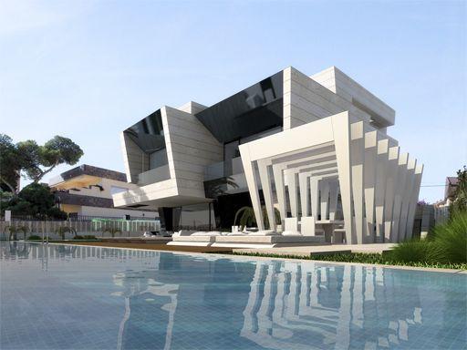 Ventanas exteriores de casas modernas buscar con google - Casas con chimeneas modernas ...