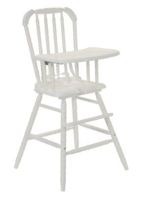 DaVinci Jenny Lind High Chair   White: Amazon: Baby