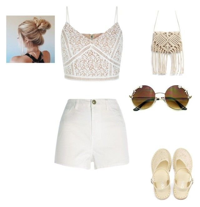 """""""Untitled #156"""" by claudinejoacin ❤ liked on Polyvore featuring New Look and River Island"""