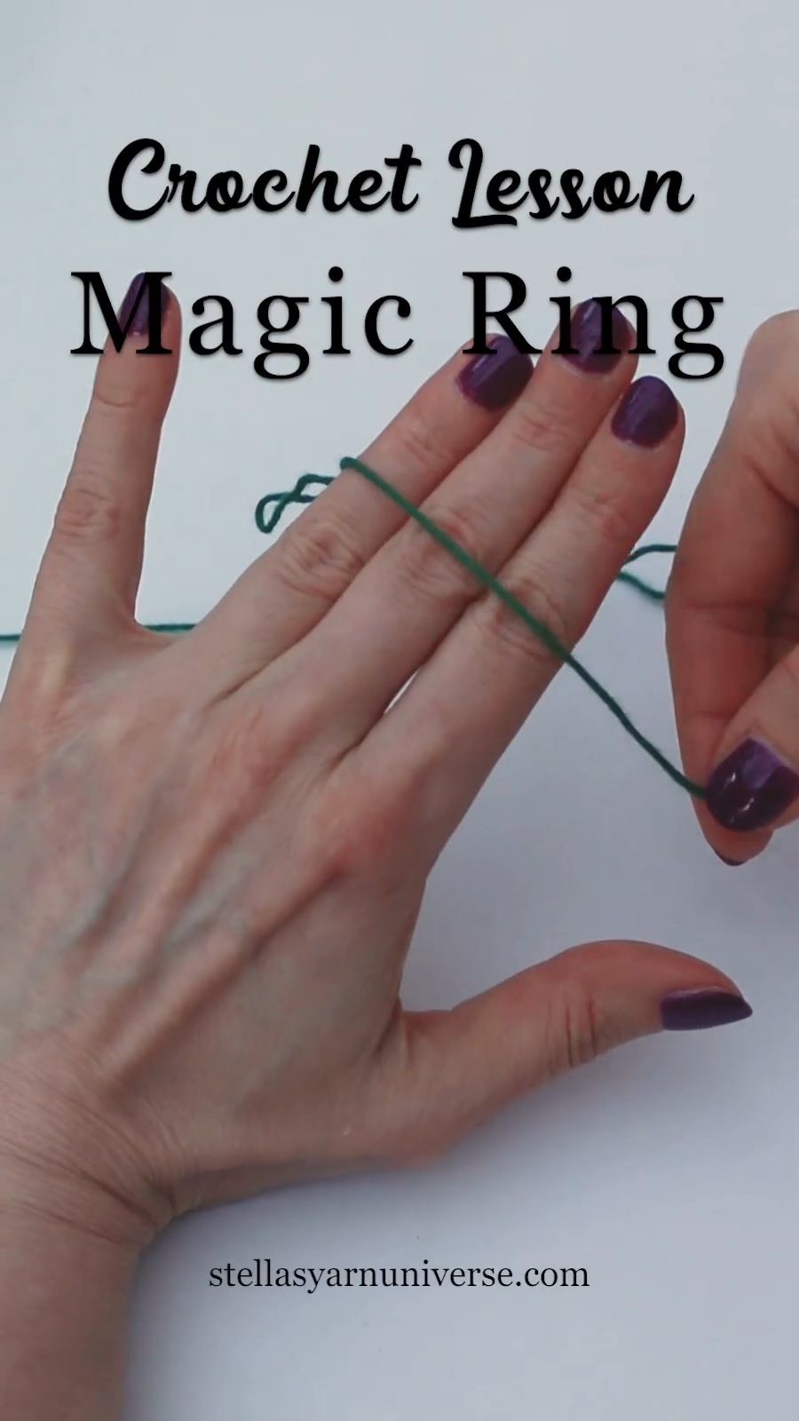Photo of Magic Ring Crochet Lesson