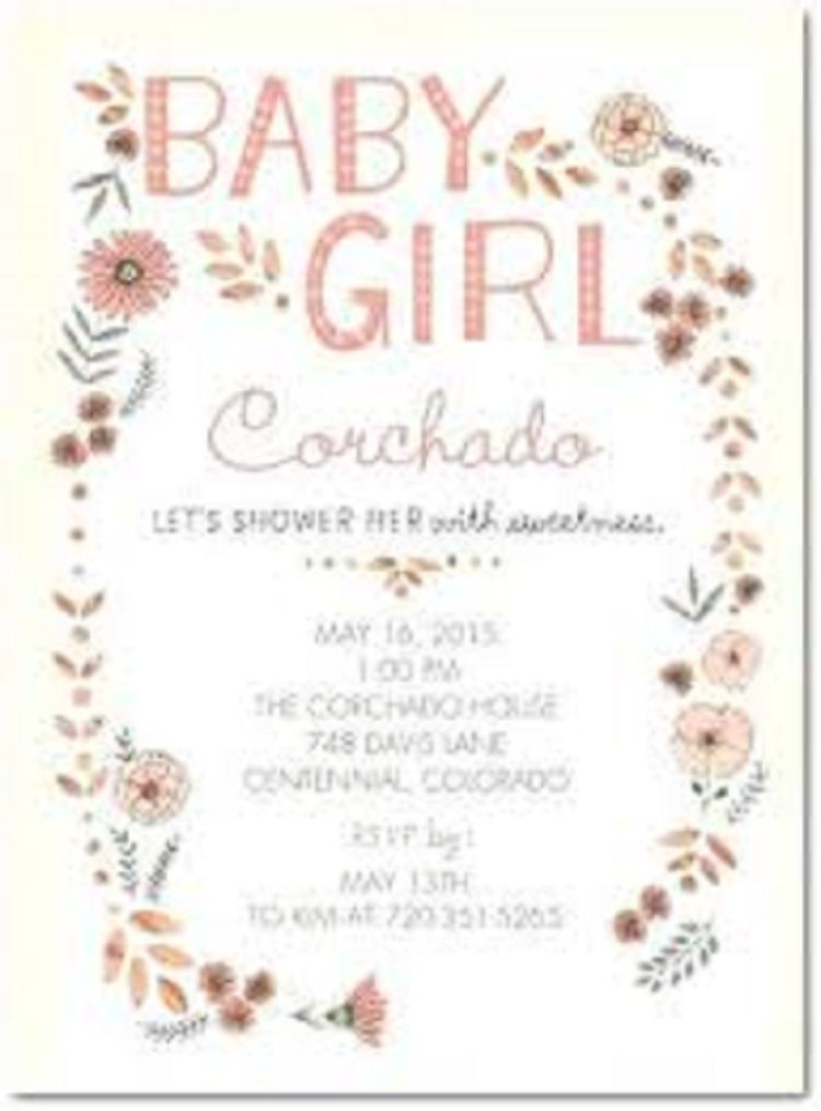 Hallmark Custom Baby Shower Invitations Buick Custom Baby Shower