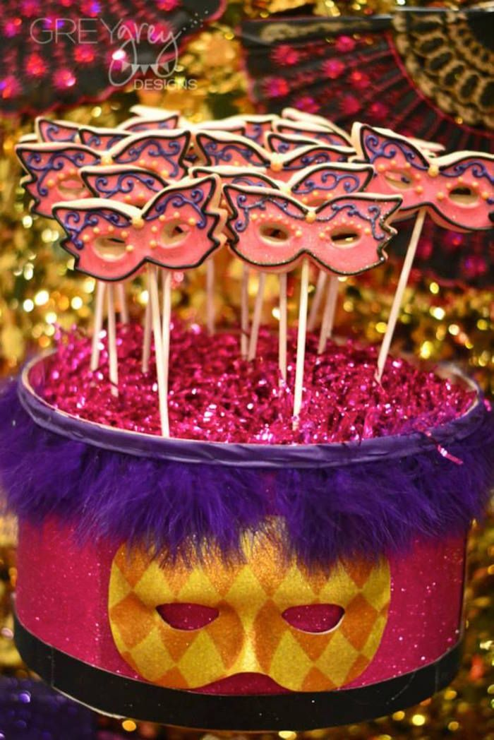 Masquerade Theme Decoration Ideas Part - 31: Masquerade 18th Birthday Party