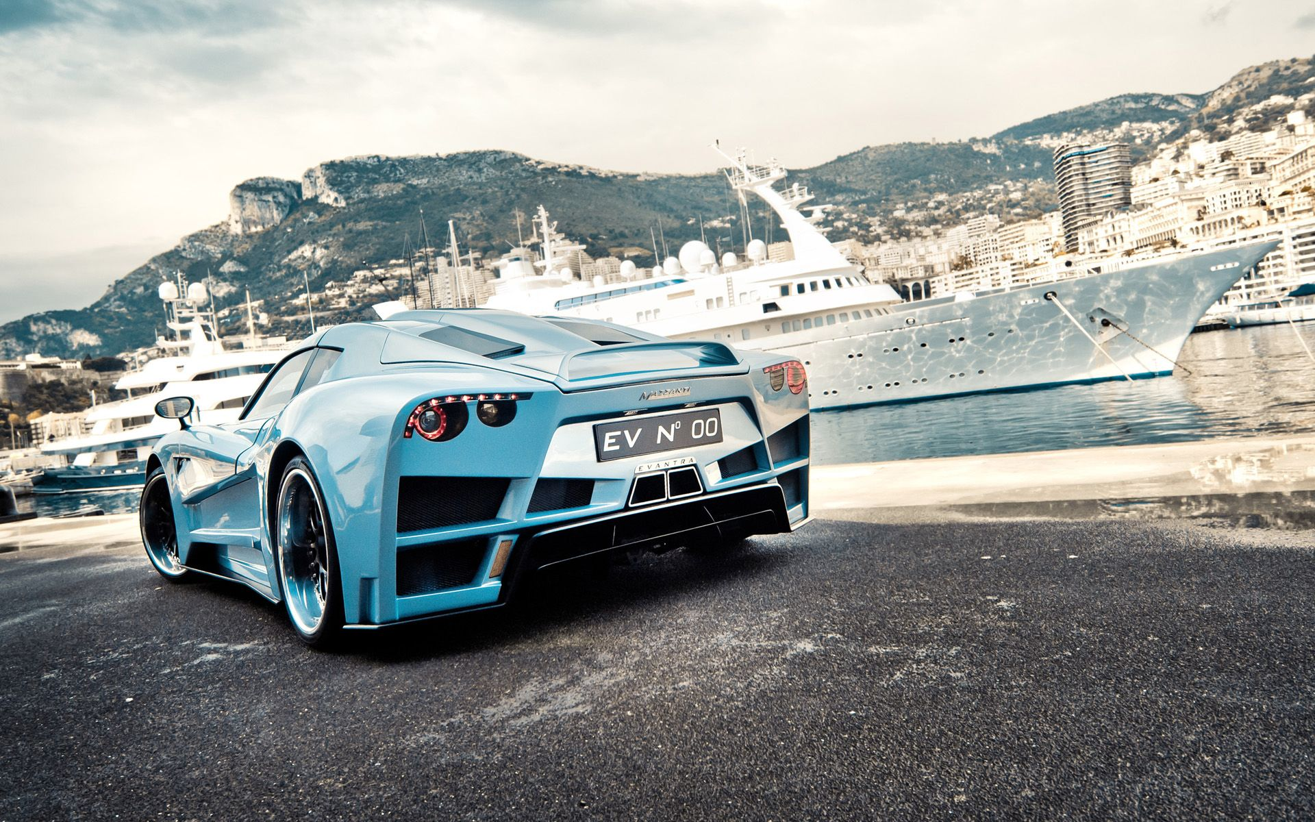 Car colour match pen - Mazzanti S Goal With The Evantra Was To Pen A Super Car That Embraced Typical Italian Design Language With A Power Train To Match