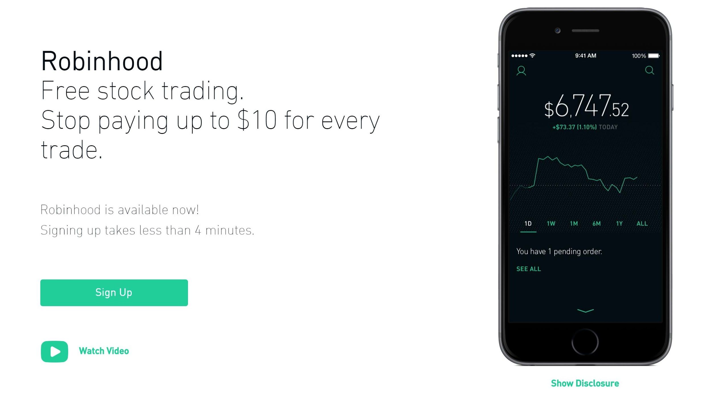 How Robinhood Became the First Financial App to Receive an